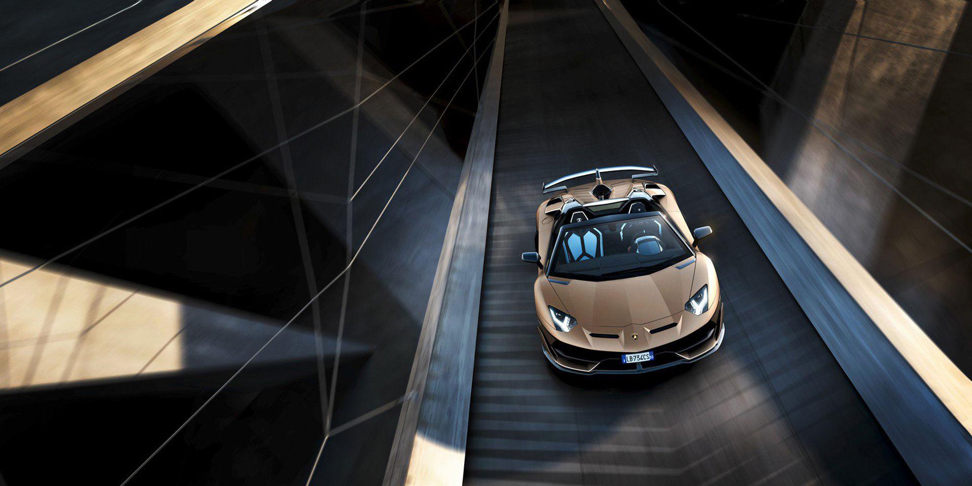 Nu finns Lamborghini Aventador SVJ även som cab