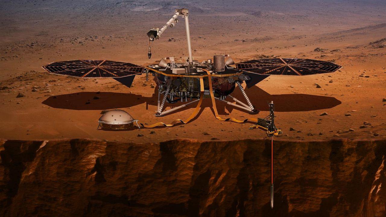 InSight har börjat borra på Mars