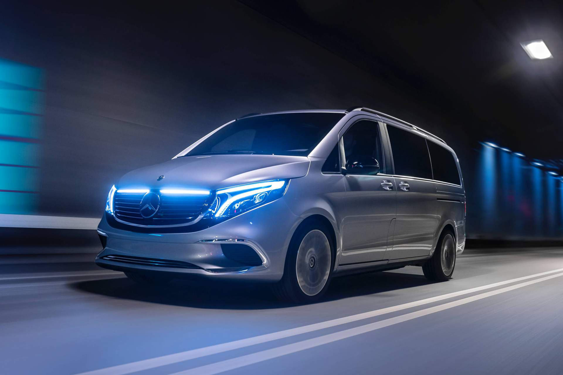 Mercedes V-Klass kommer med eldrift i höst