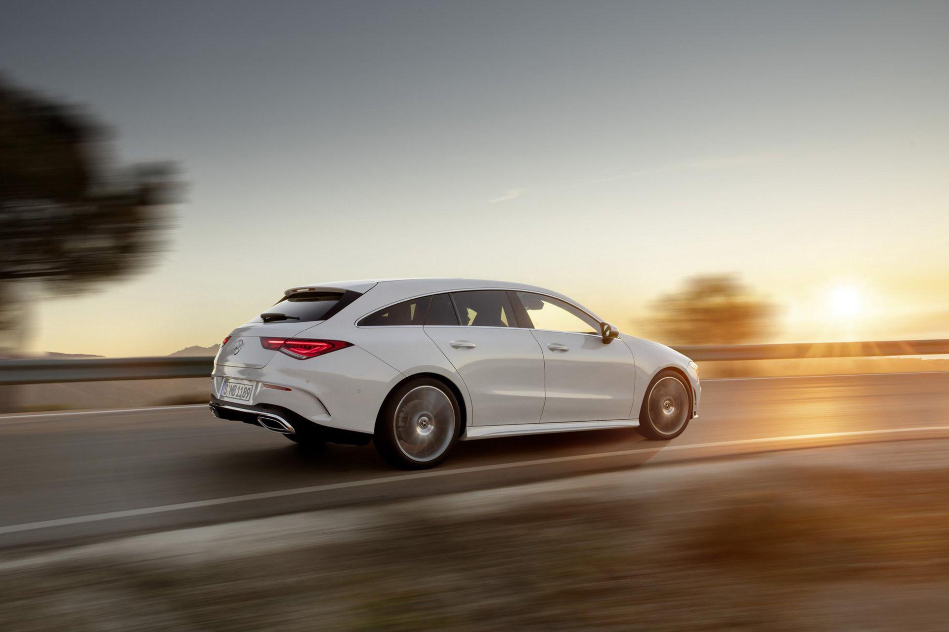 Nya Mercedes CLA som Shooting Brake