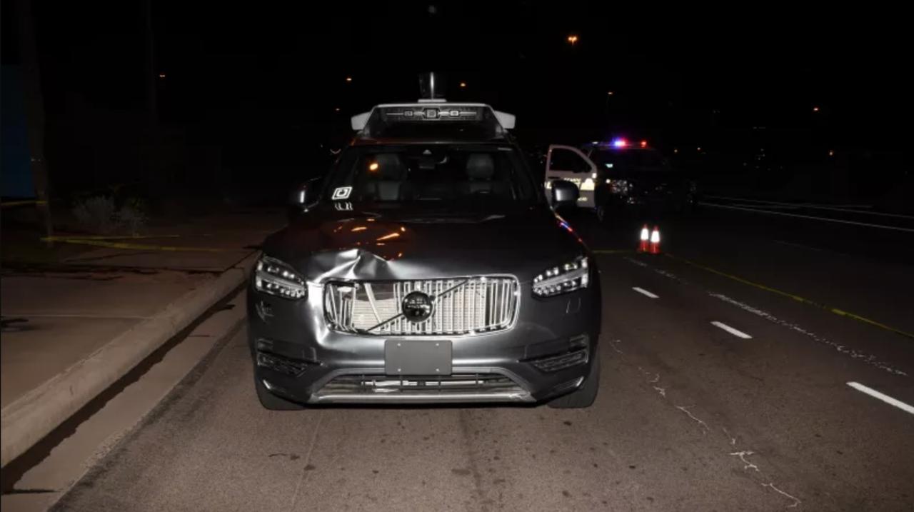 Uber inte ansvariga för dödsolycka med självkörande bil