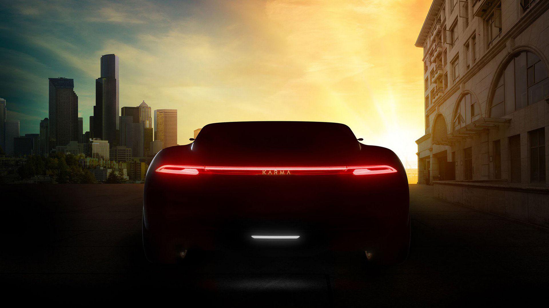 Karma Automotive visar två nya bilar på Shanghai Auto Show