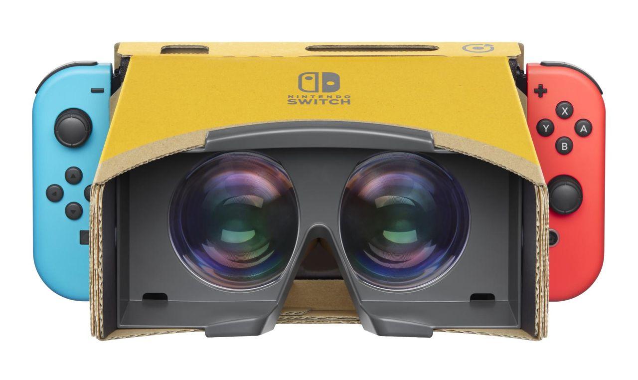 VR-kit till Nintendo Switch släpps i april