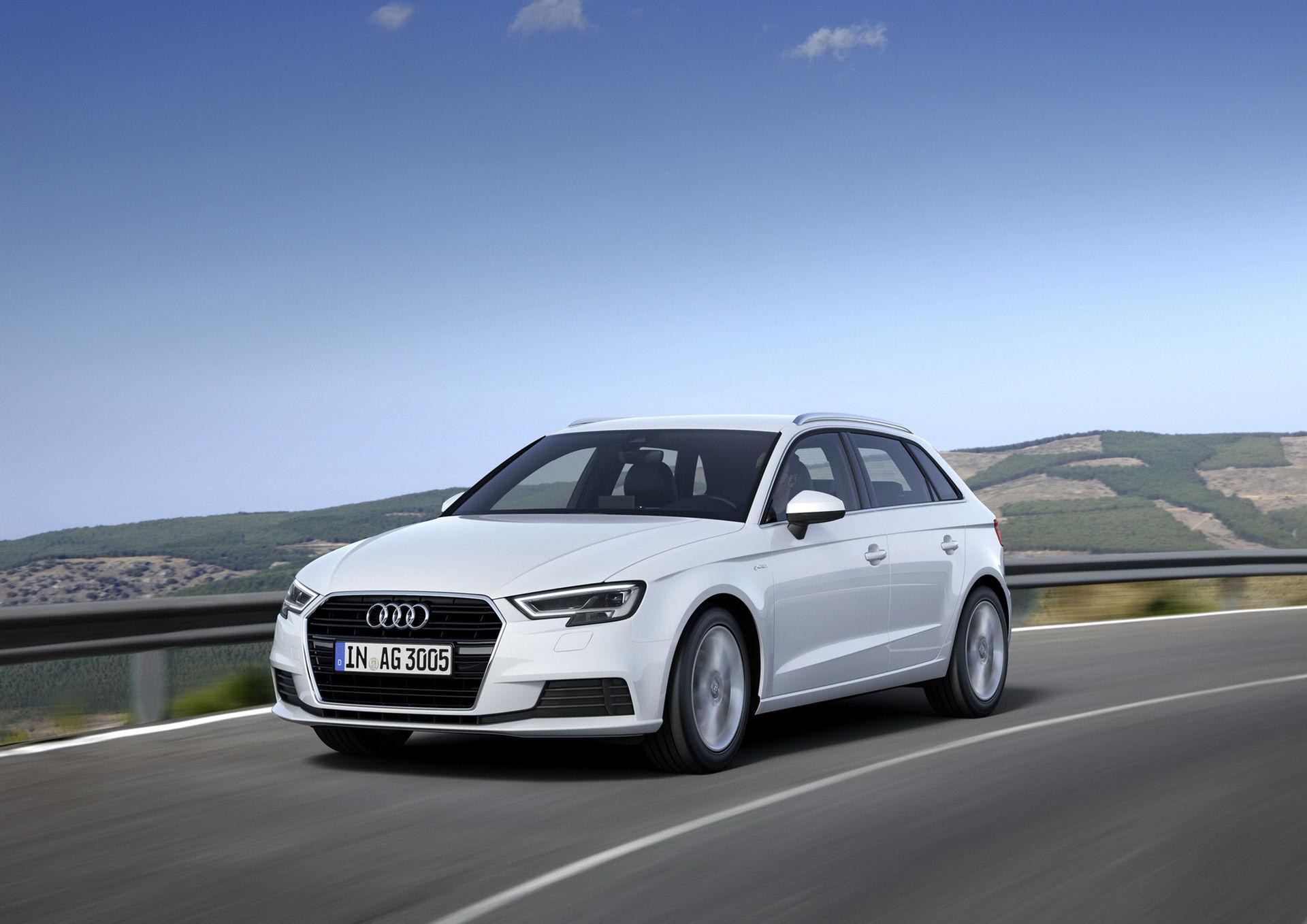 Audi släpper uppdaterad A3 G-Tron