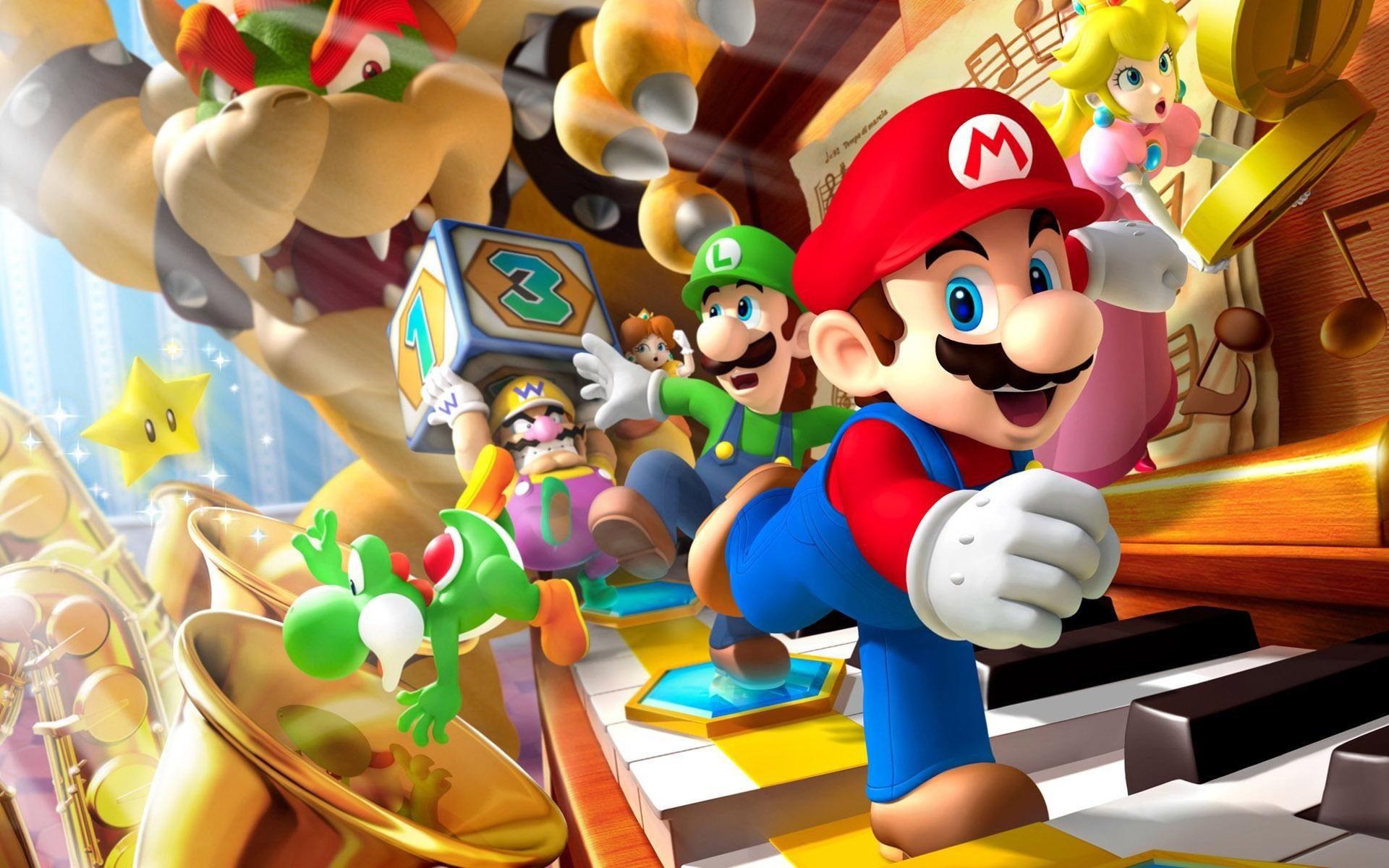 Tut i luren - idag firar vi Super Mario Day!