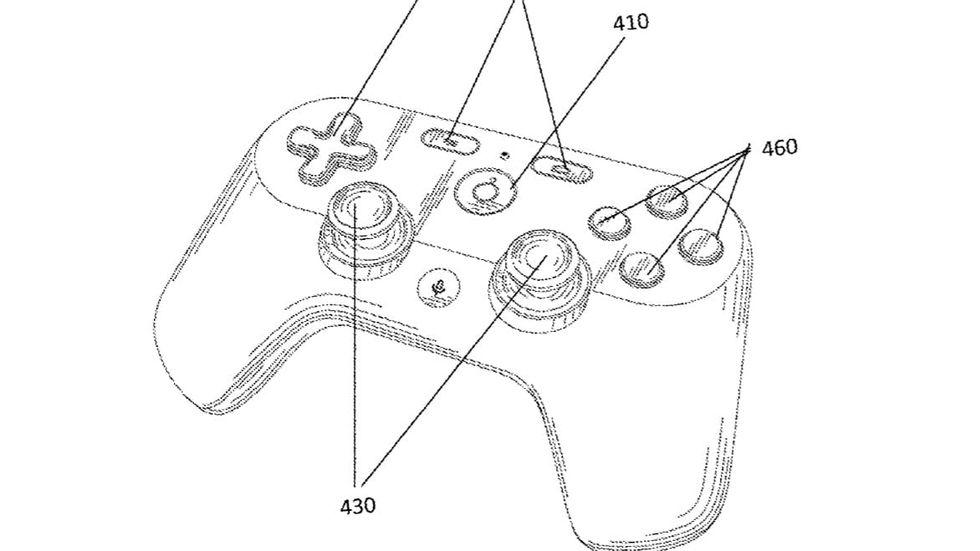 Patent visar upp Googles spelkontroll