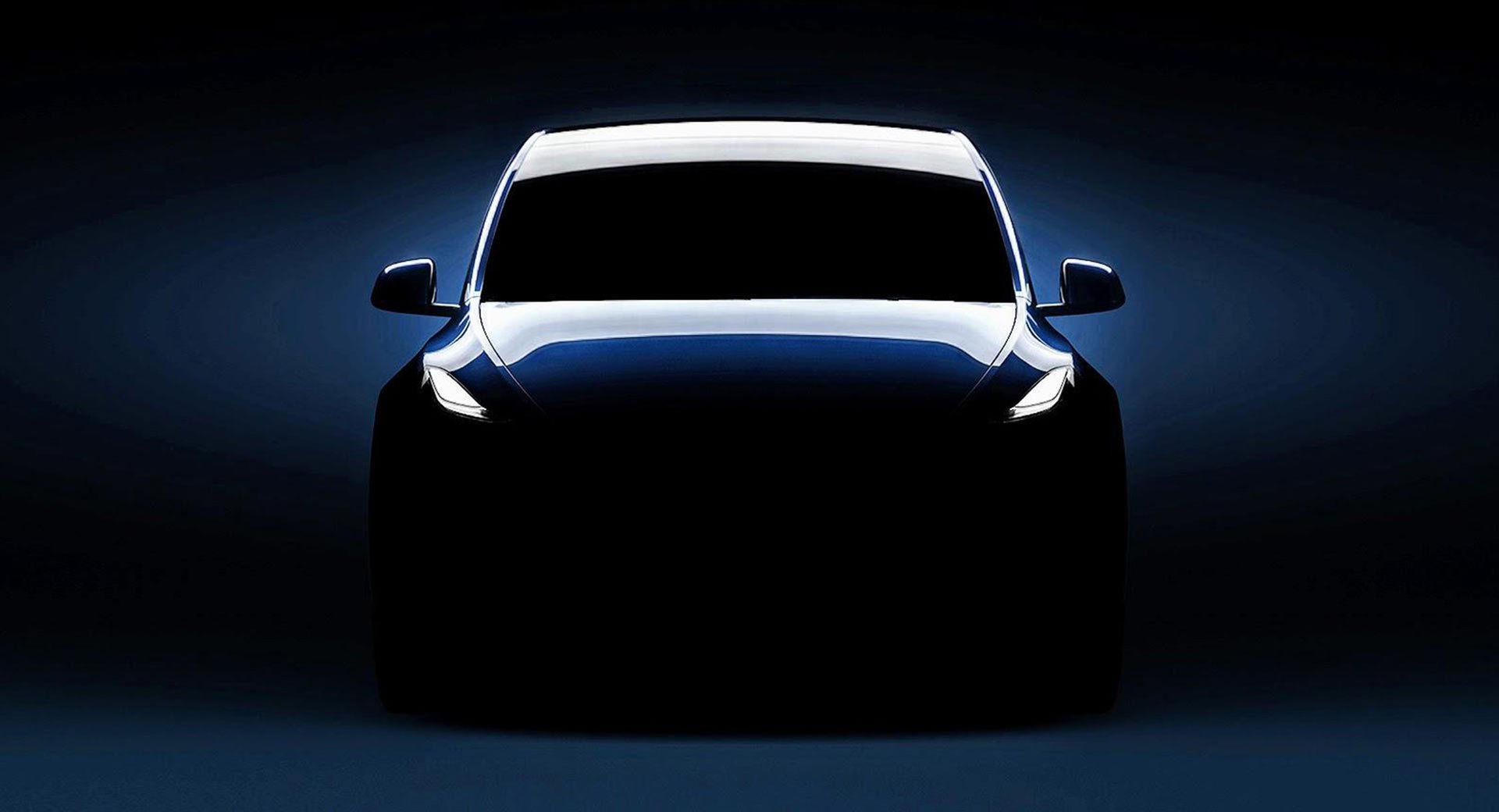 Ny teaser för Tesla Model Y