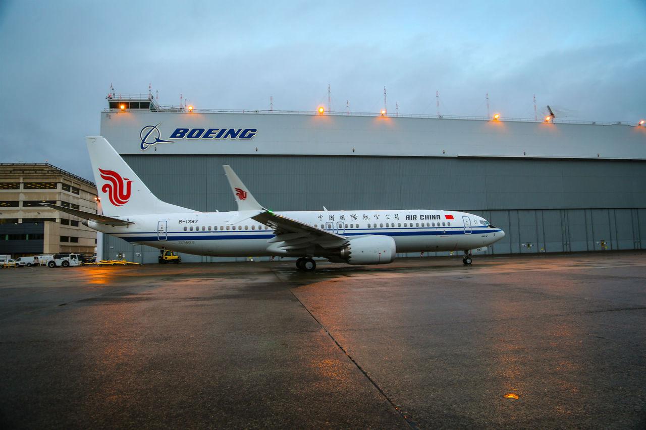 Kina stoppar Boeing 737 MAX 8