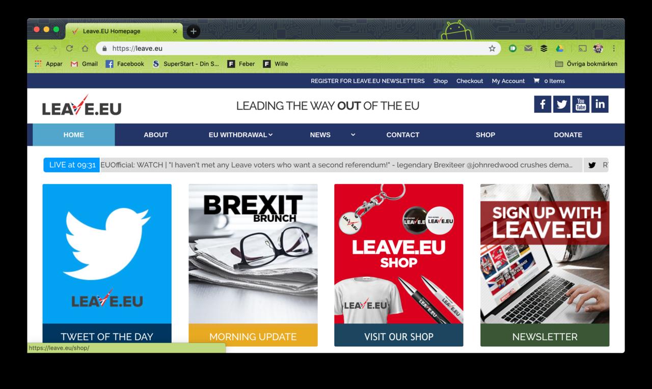 Britter riskerar att bli av med 340.000 .eu-domäner
