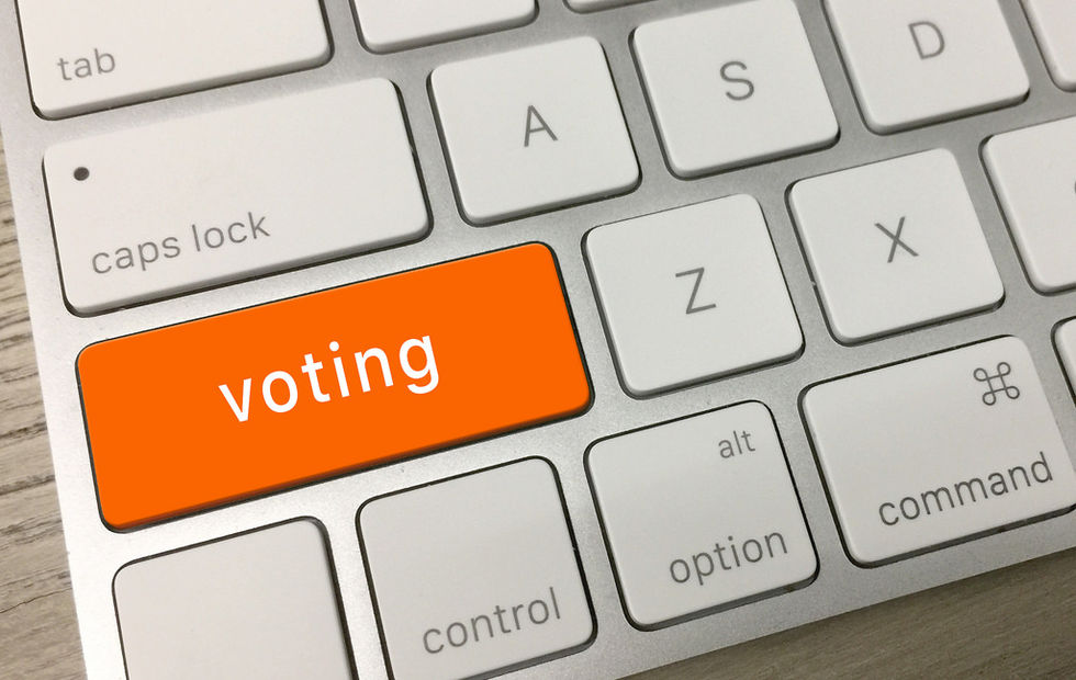 Nästan hälften av estländarna röstade online i senaste valet