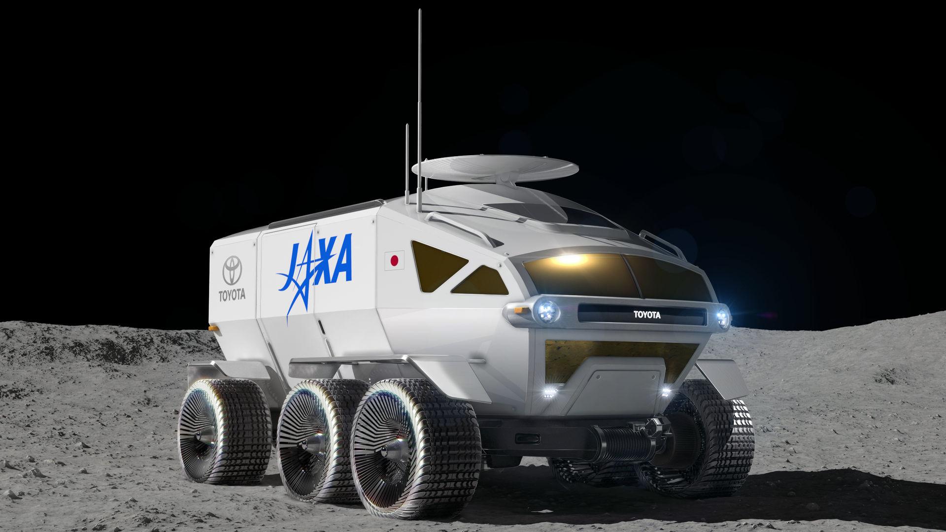 Toyota kommer att bygga Japans månlandare
