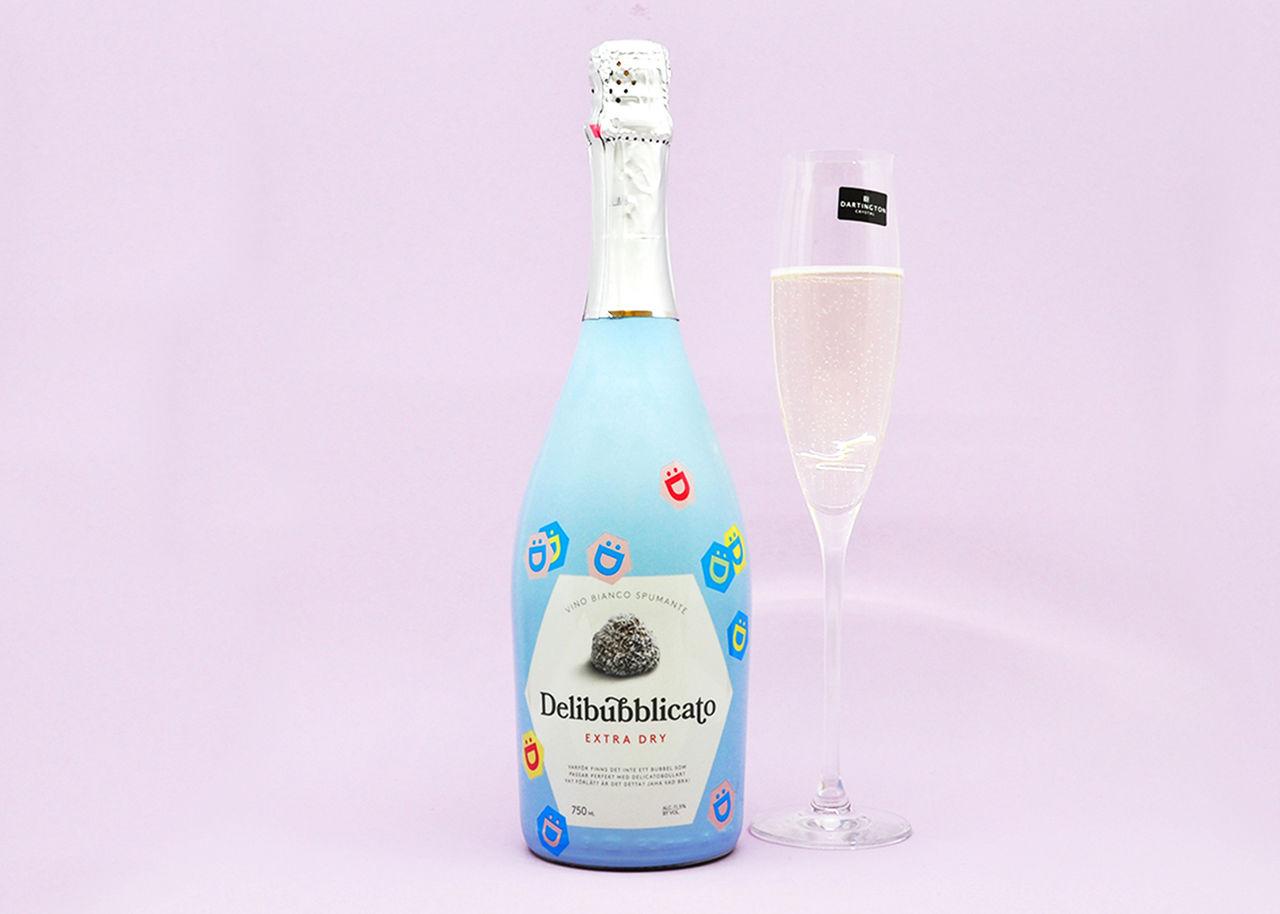 Delicato lanserar bubbel