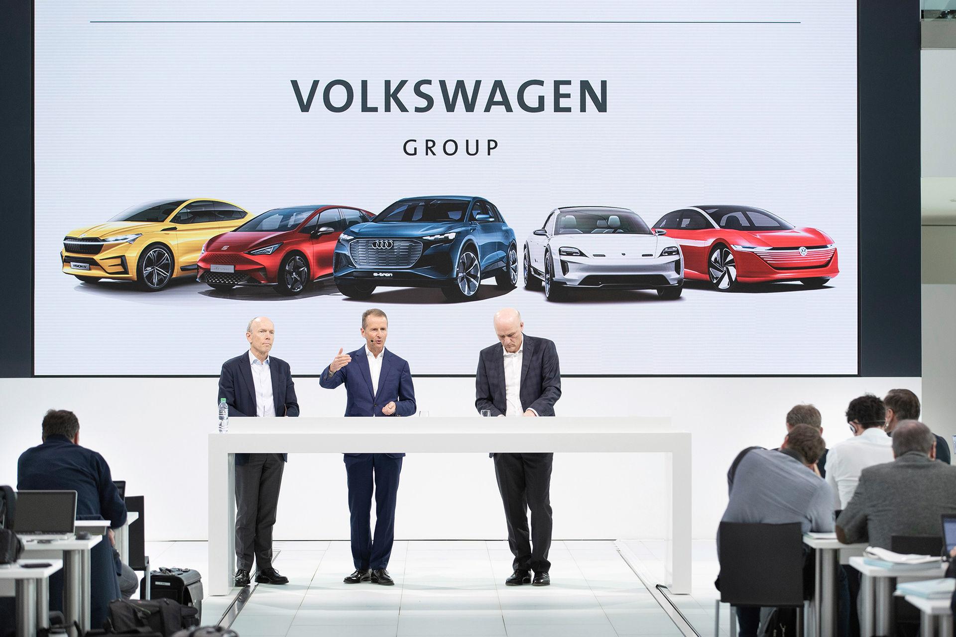 70 nya eldrivna modeller från Volkswagen-koncernen inom tio år