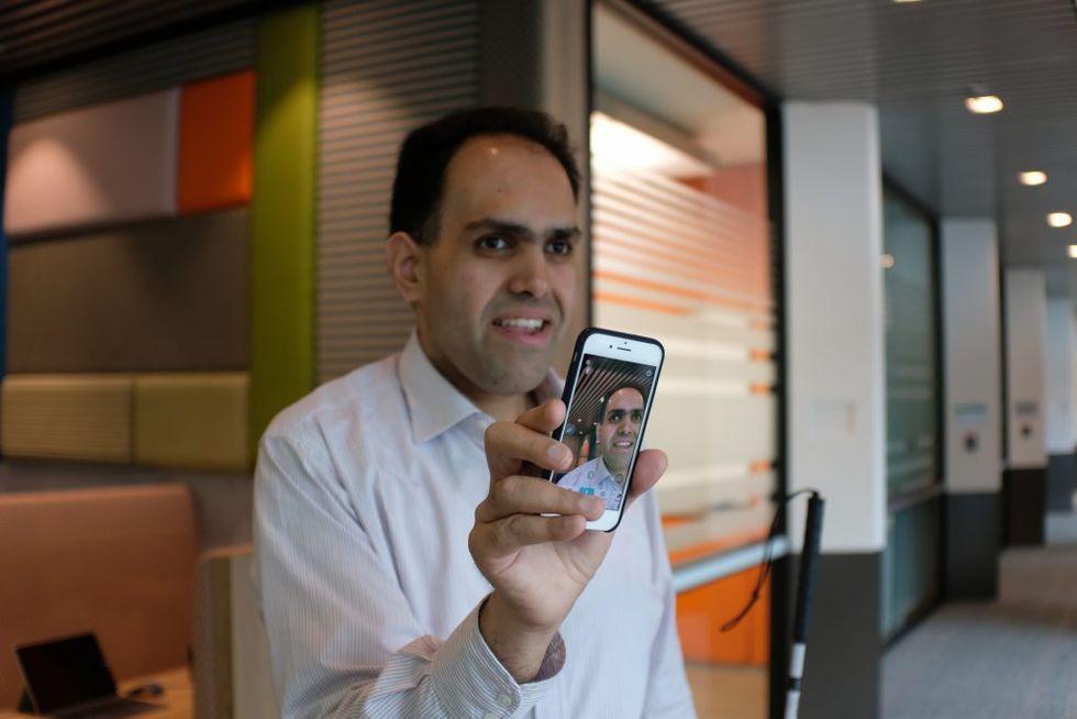 Microsofts app för synskadade blir ännu bättre