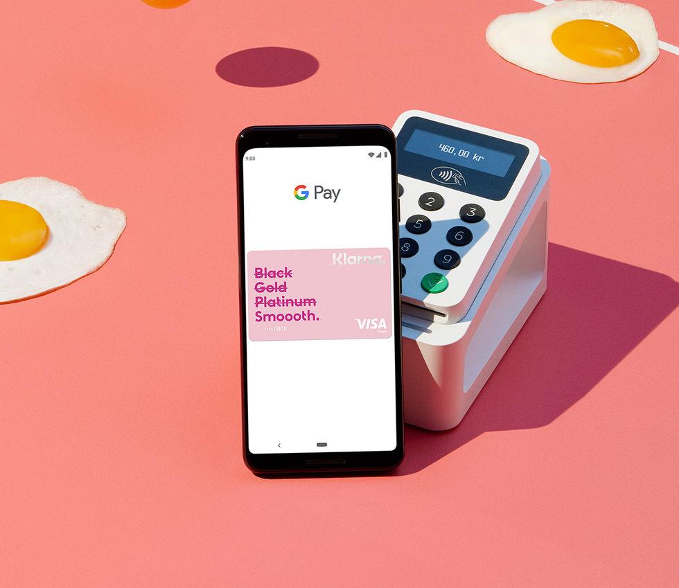 Google Pay får stöd för Klarna-kortet
