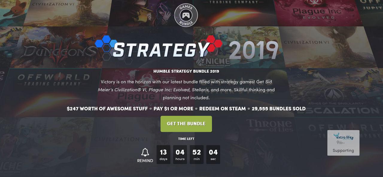 Fynda strategispel i ny Humble Bundle