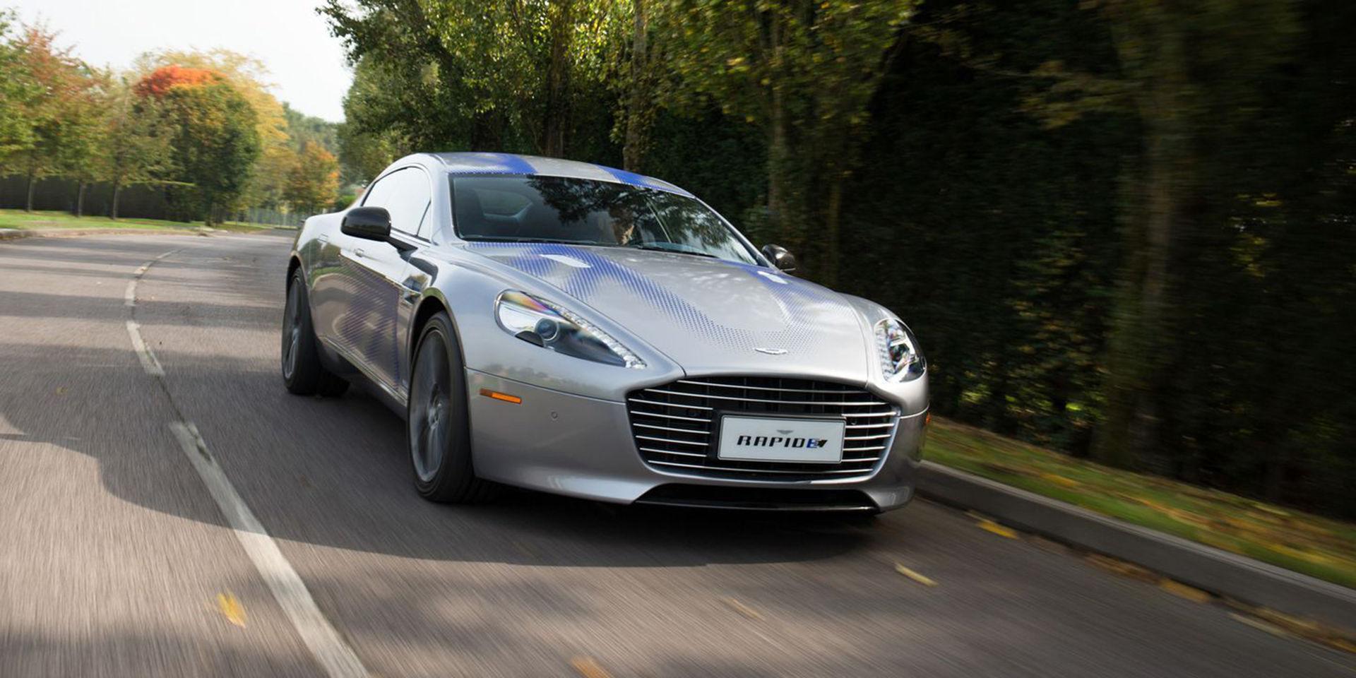 Nya Bond-bilen blir Aston Martin Rapide E