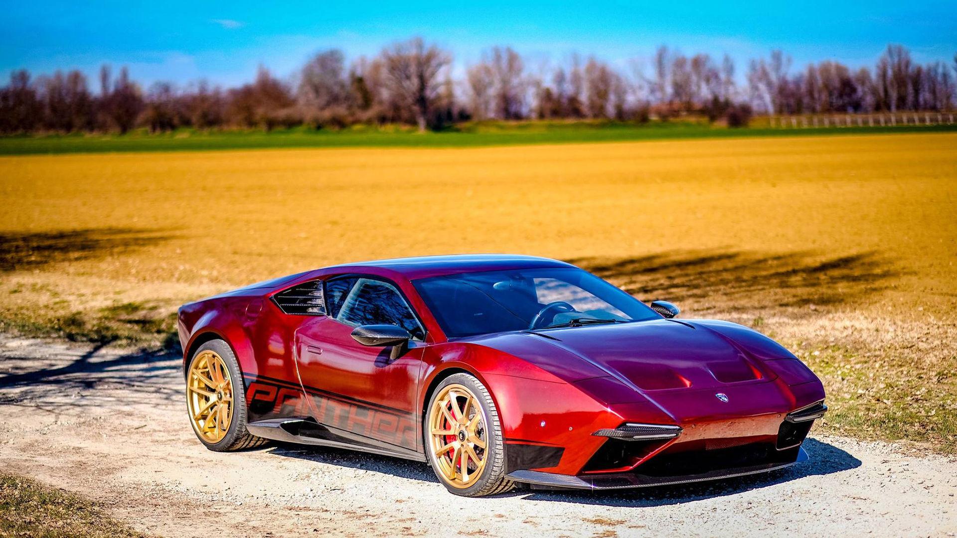 Ares Design återupplivar De Tomaso Pantera