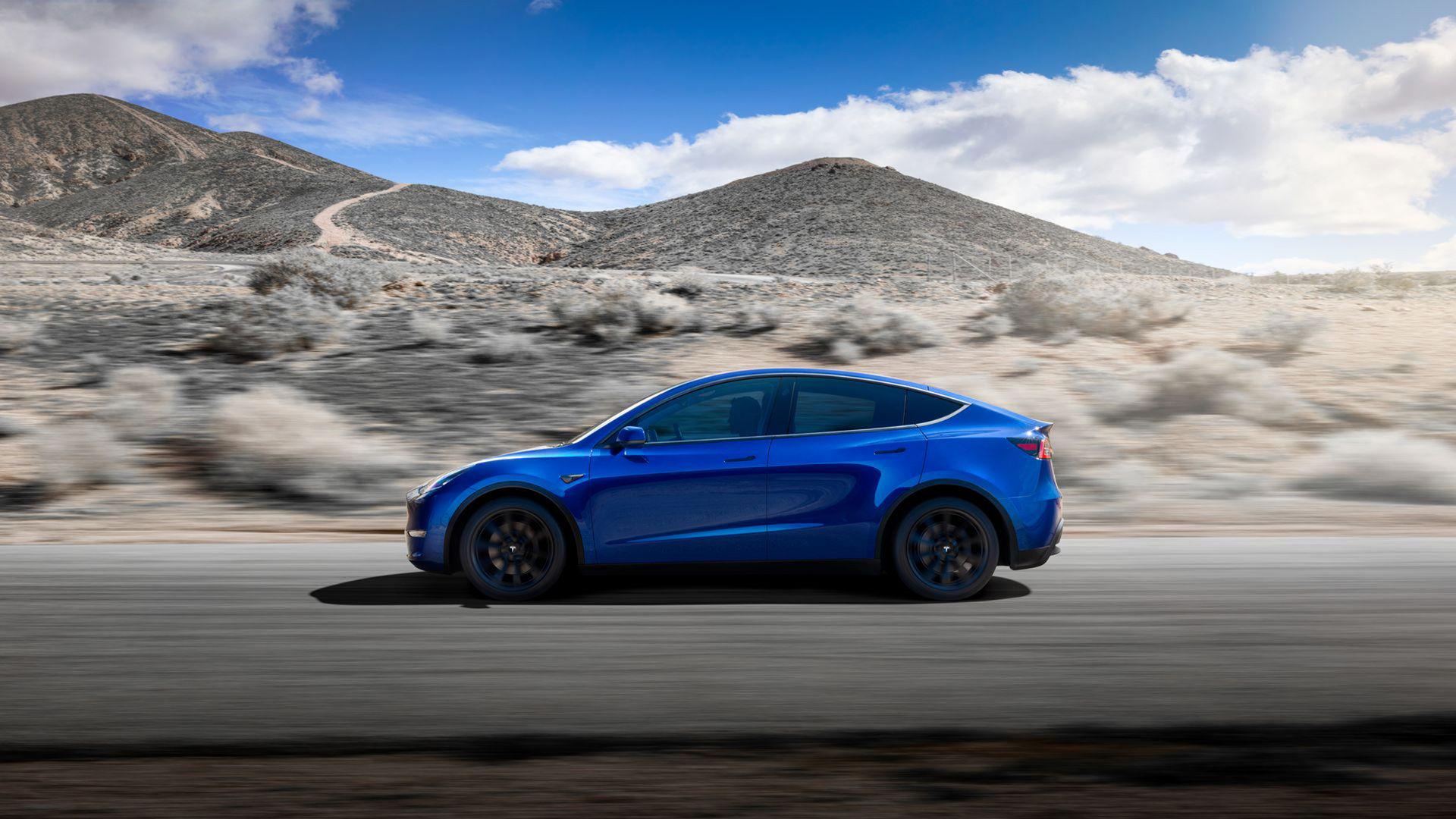 Tesla Model 3 har fått ett större syskon - Model Y är här