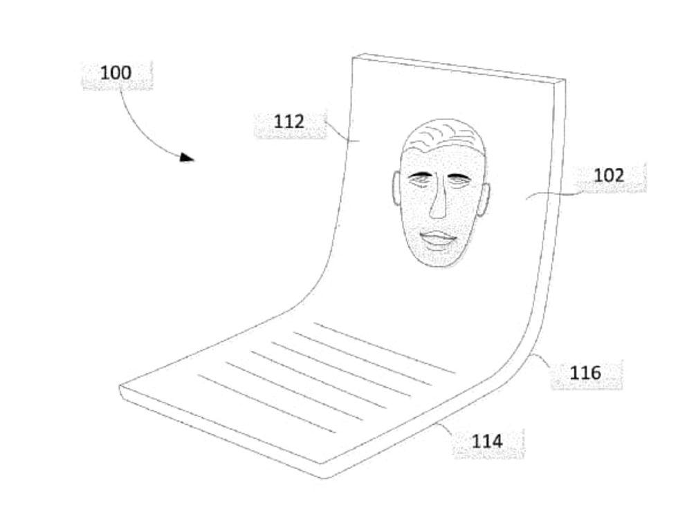 Google får patent för vikbara skärmar