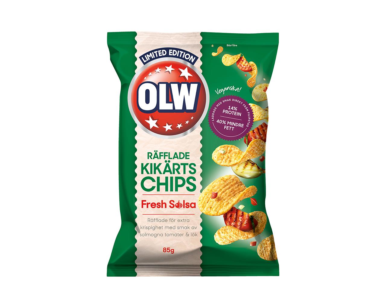 Nya vegan-chips från OLW