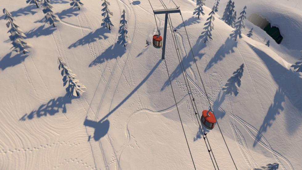 Grand Mountain Adventure är ett skidspel från svenska Toppluva