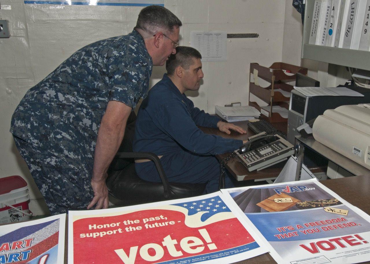 Amerikanska försvaret utvecklar system för e-röstning