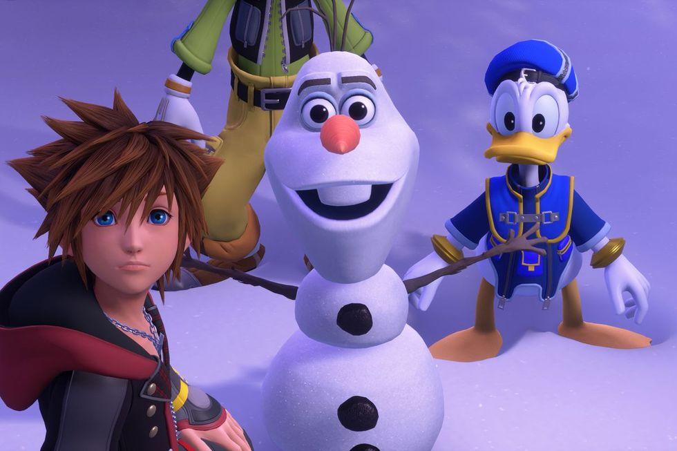 Square Enix plockar bort skådespelare från Kingdom Hearts III