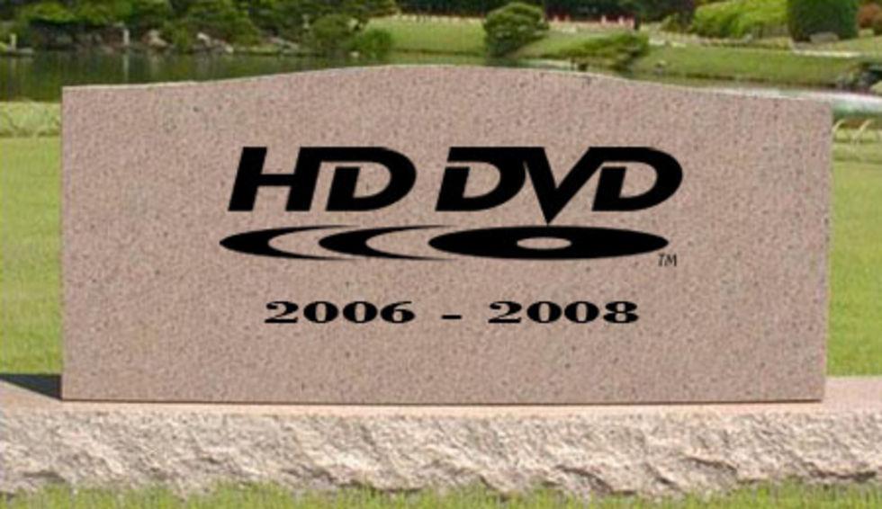 Hejdå HD DVD!