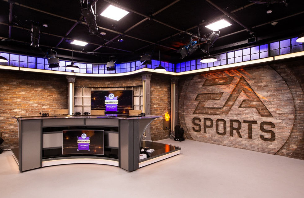 EA börjar sända esport