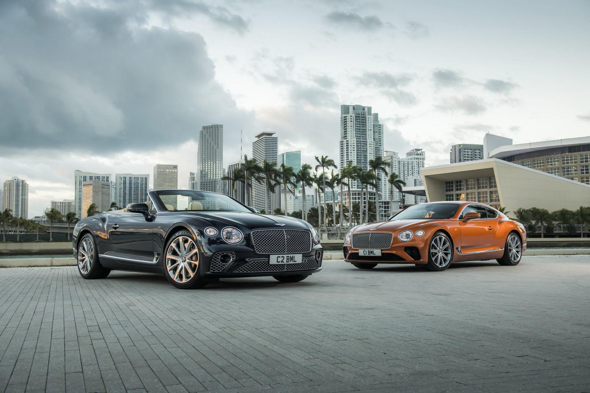 Ny turbomatad V8:a till Bentley Continental GT