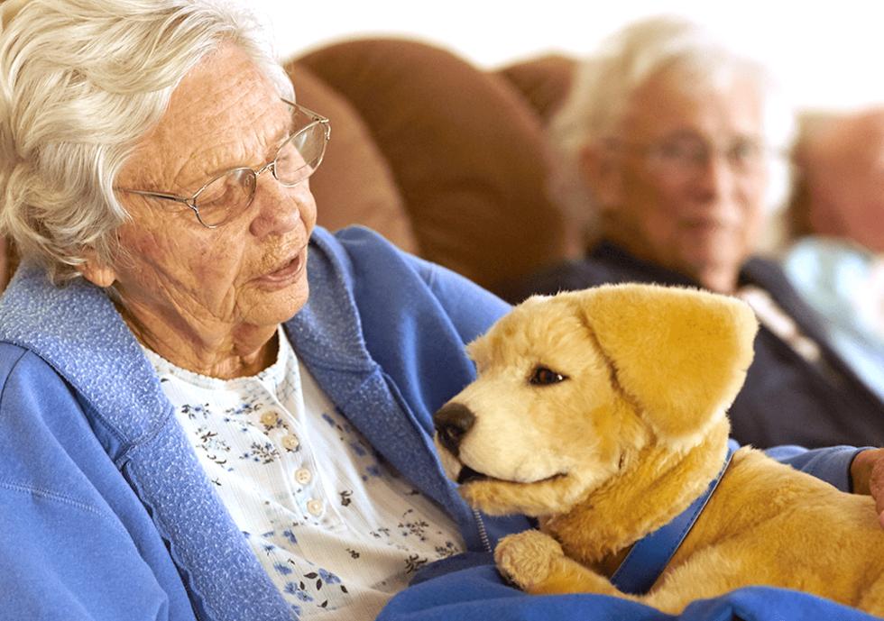 Tombot Puppy är en robothund som kan hålla dig sällskap