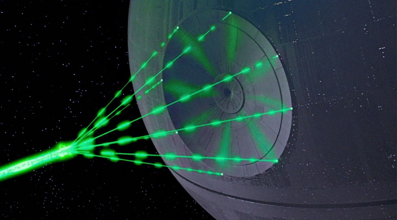 USA vill bygga laservapen i rymden