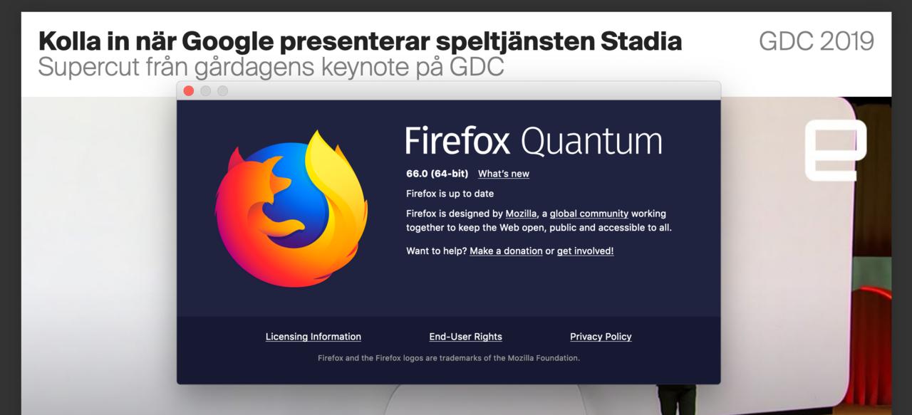Ny version av Firefox släppt