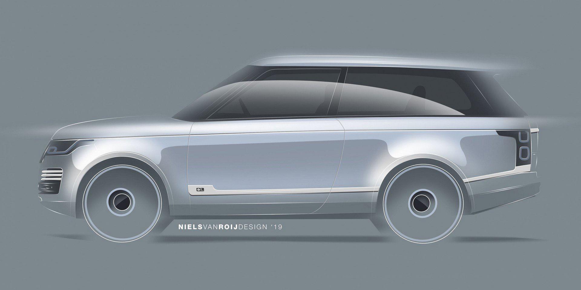 Niels van Roij Design bygger coupé av Range Rover