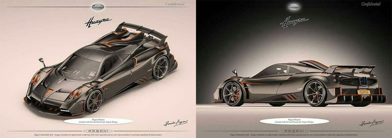 TopCar Design har beställt en Pagani Huayra Dragon
