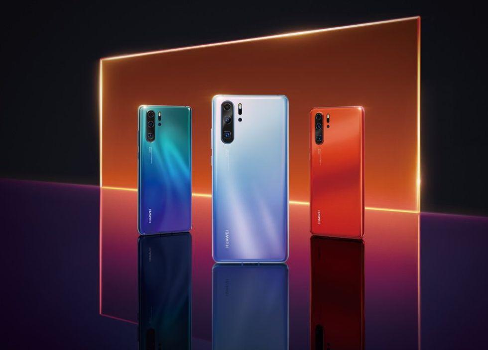 Läckta pressbilder visar Huawei P30 Pro