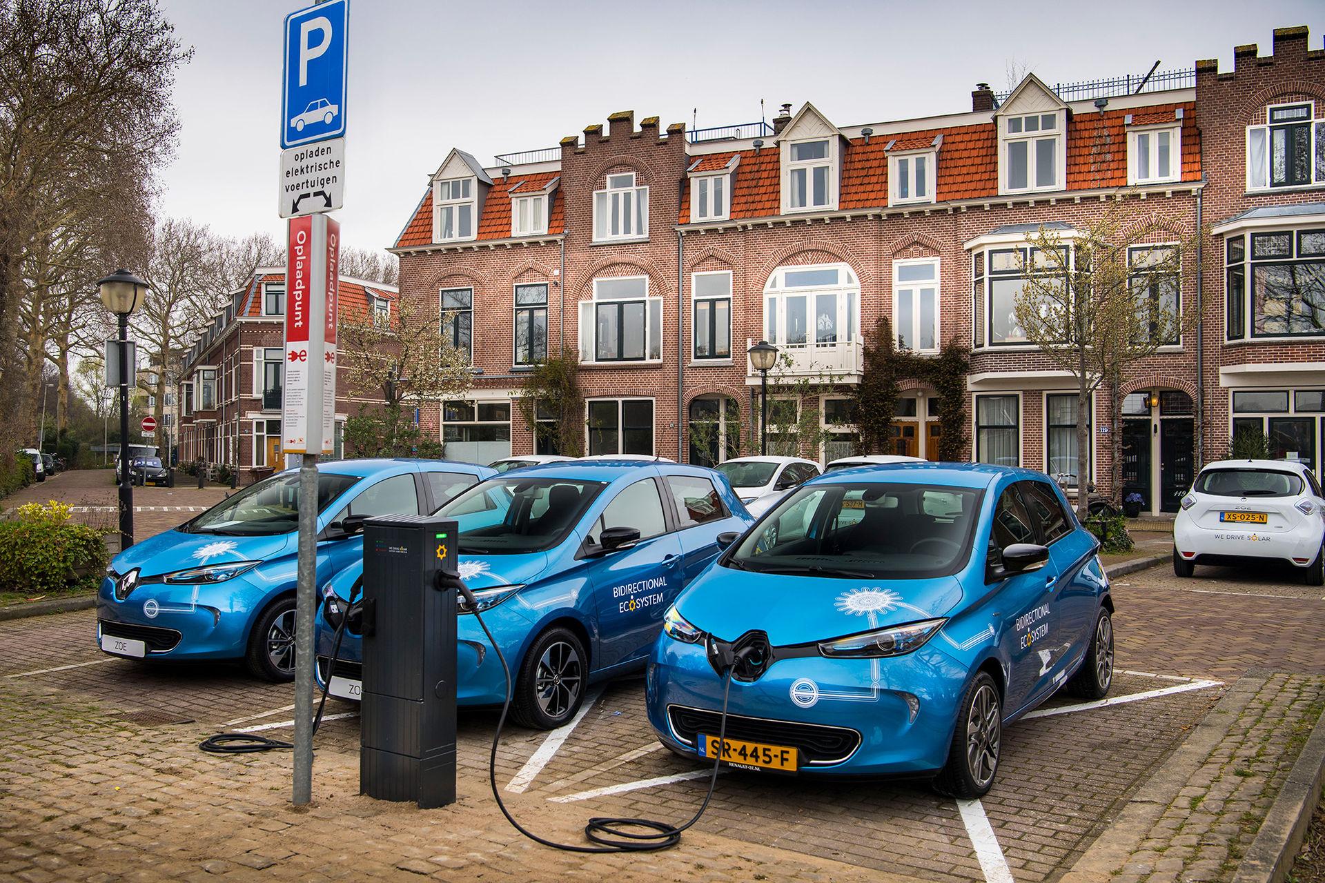 Renault inleder pilotprojekt med vehicle-to-grid