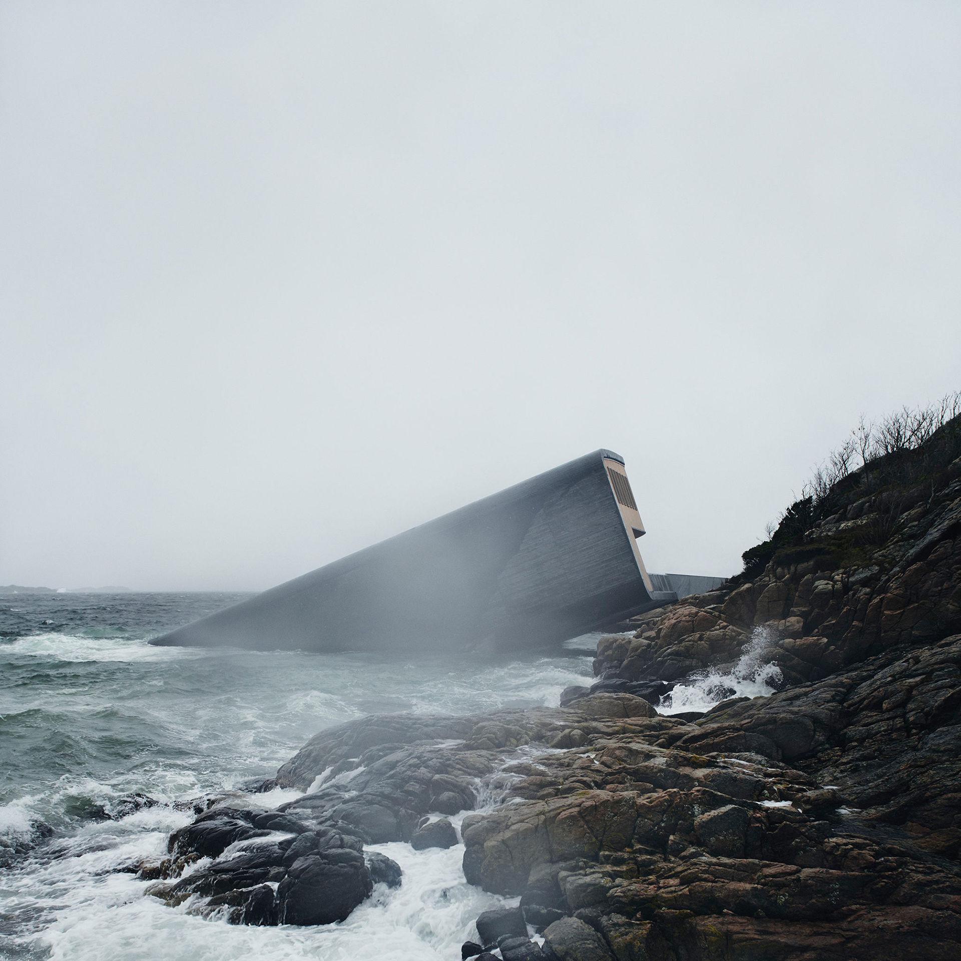 Undervattensrestaurangen i Norge har öppnat