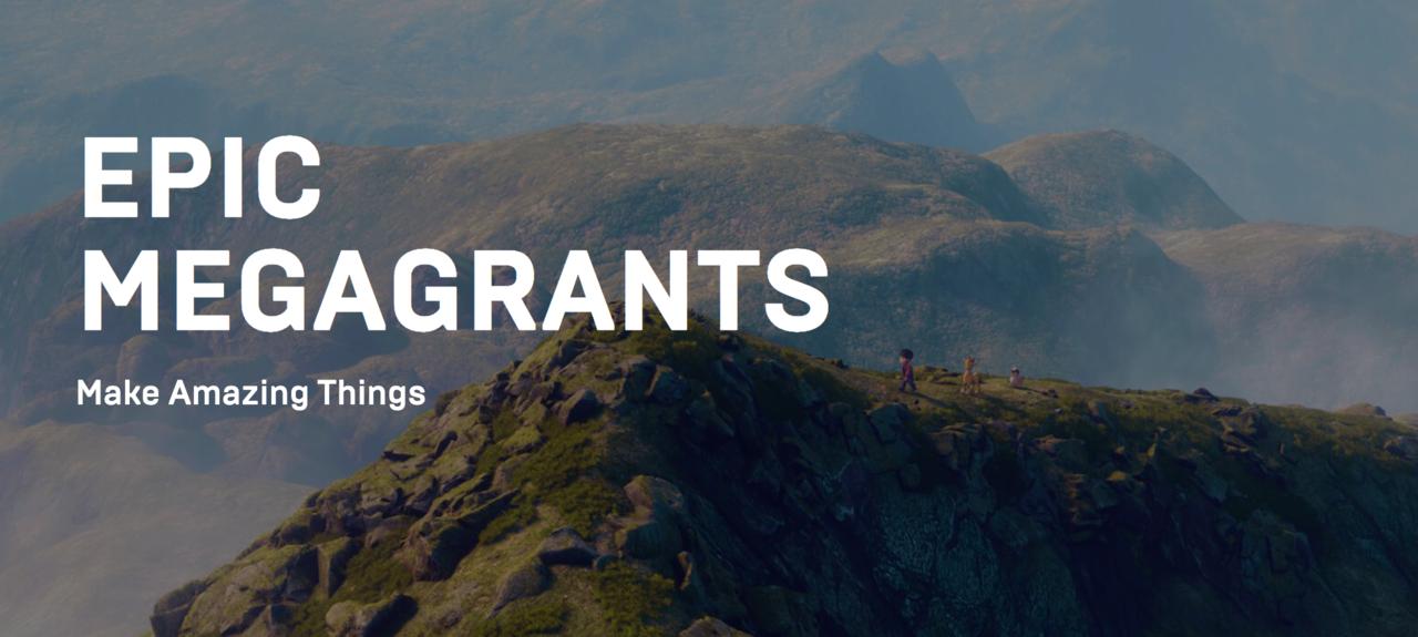 Epic ska dela ut 100 miljoner dollar till Unreal Engine-projekt