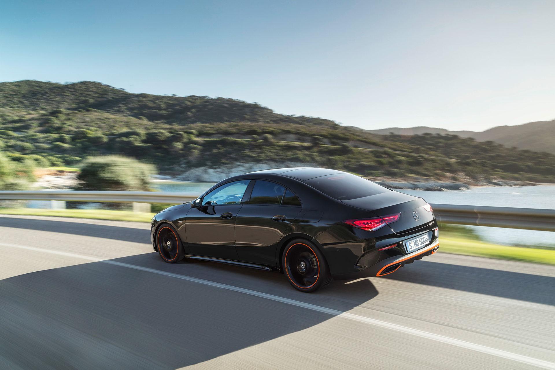 Nya Mercedes CLA Coupé blir din för 285.900 kronor