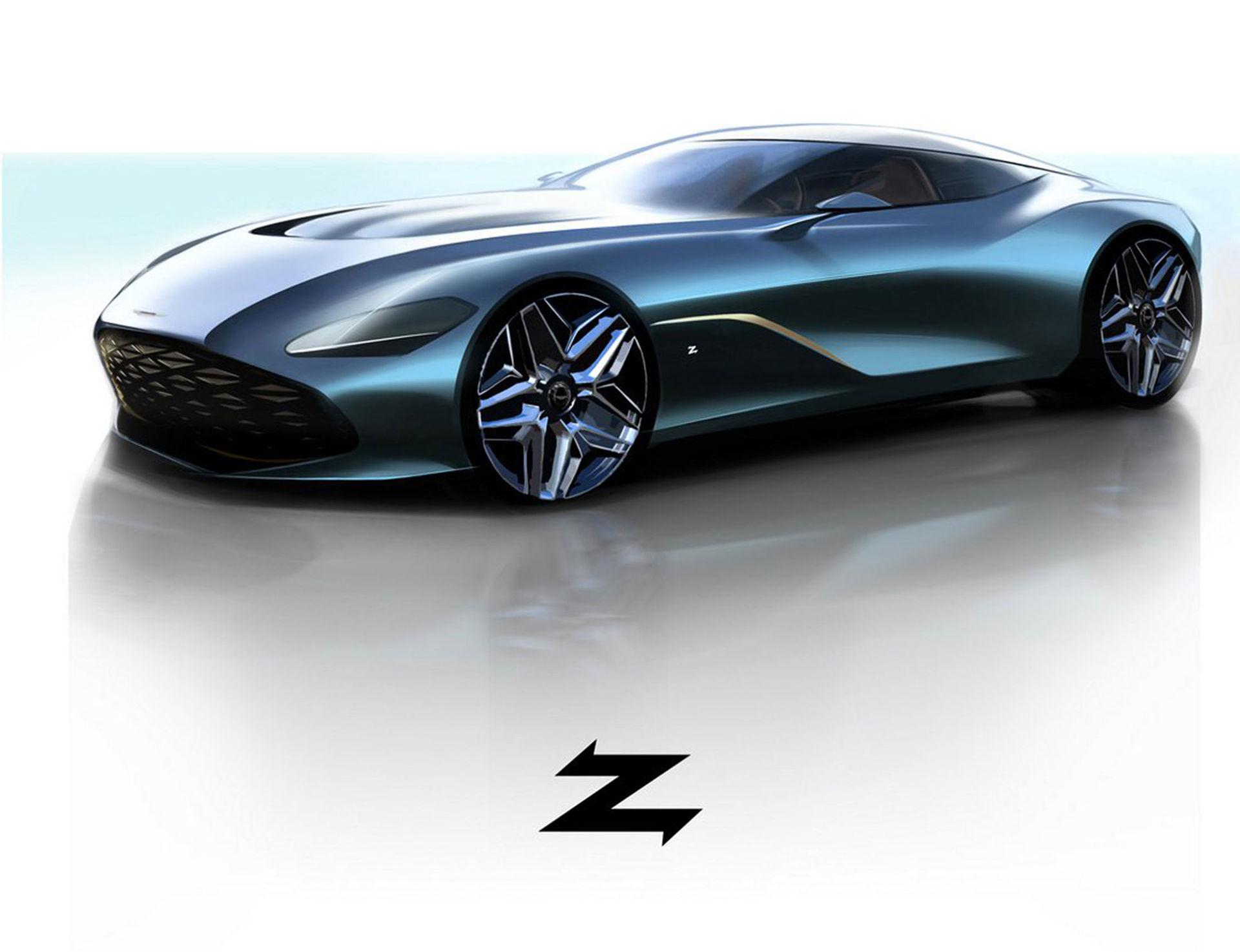 Aston Martin presenterar DBS GT Zagato
