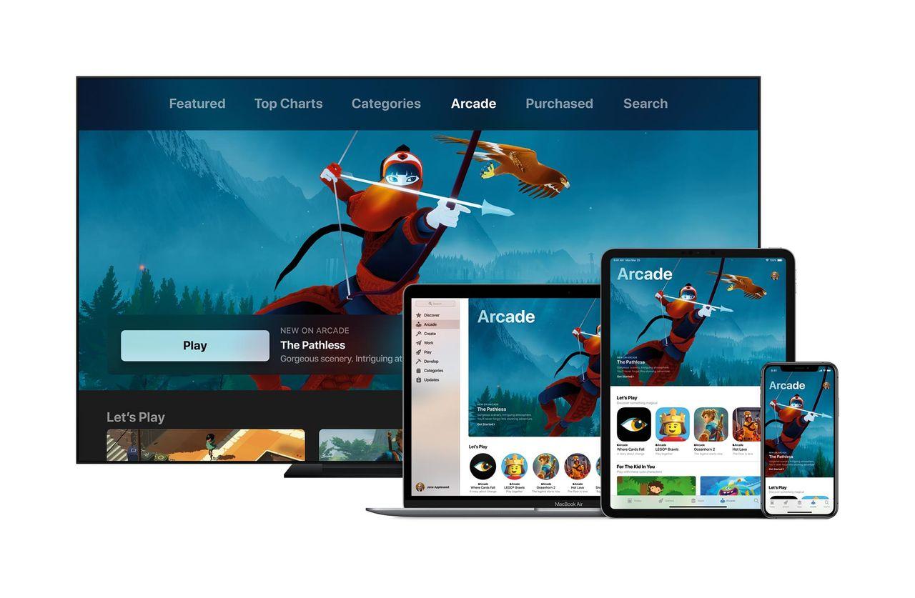 Apple Arcade är Apples nya spelplattform