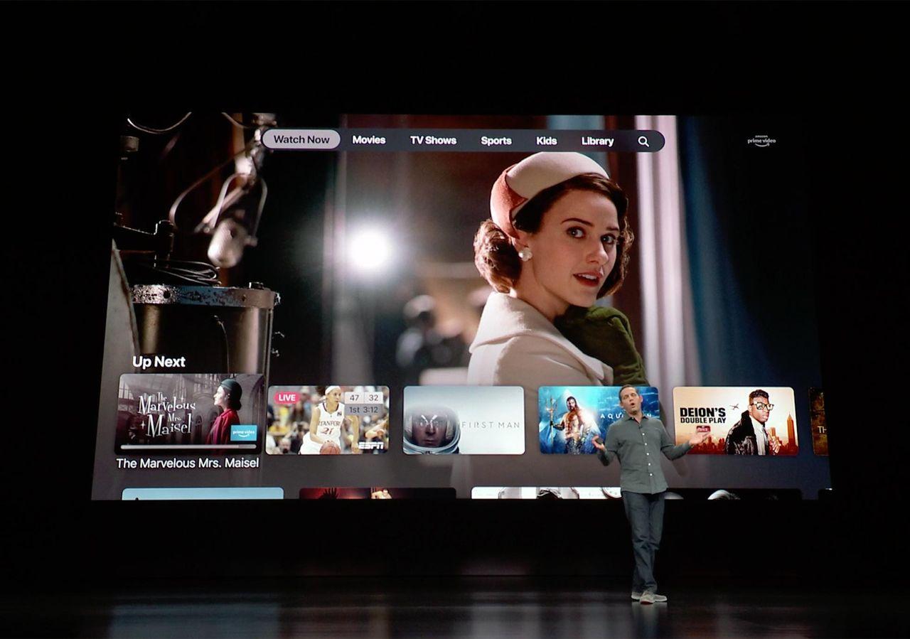 Apple satsar hårt på sin nya TV-app