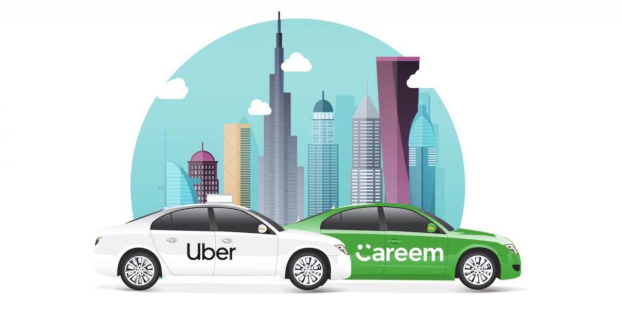 Uber köper konkurrenten Careem för 3,1 miljarder dollar
