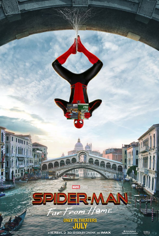 Här kommer lite nya affischer på Spider-man: Far From Home