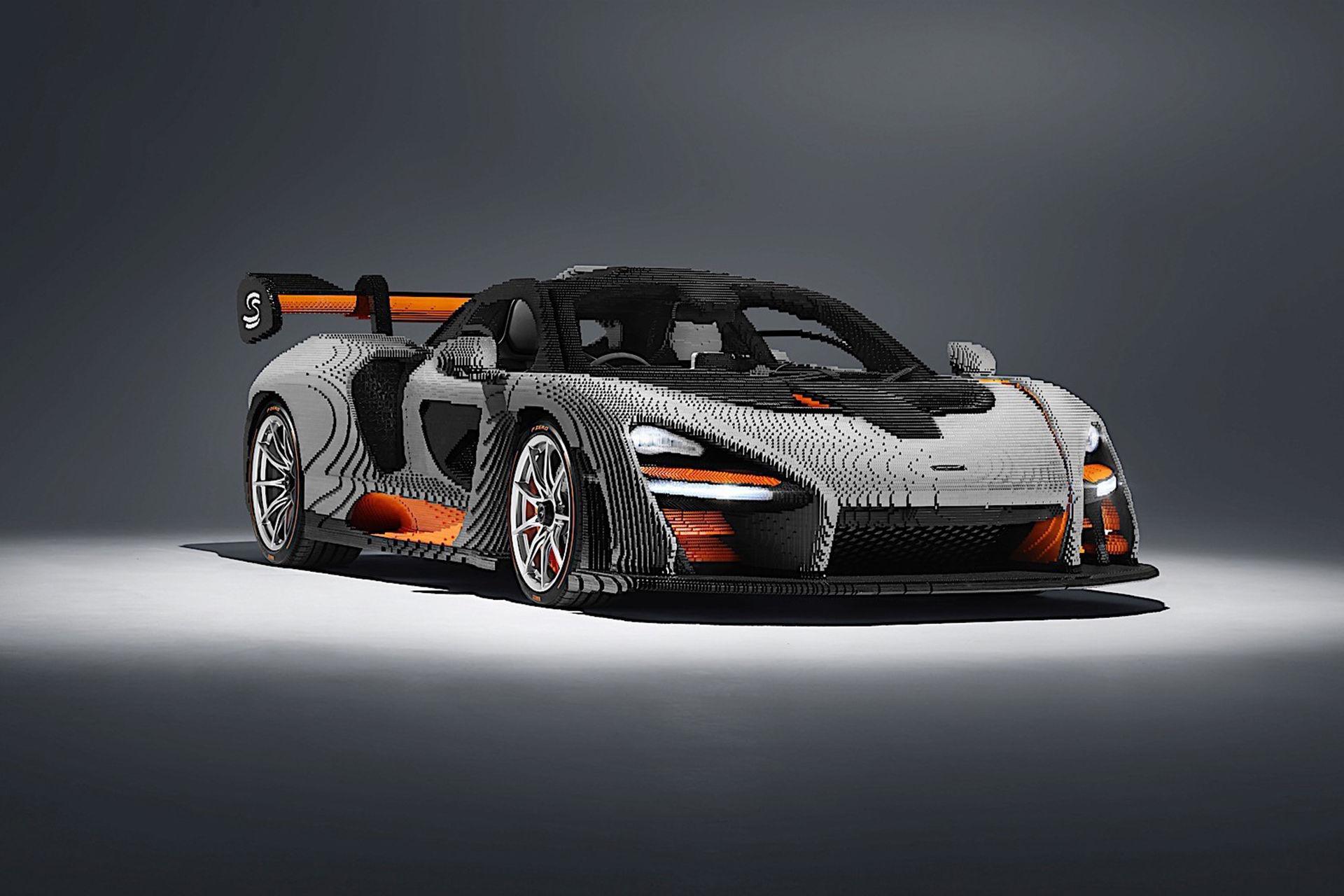 McLaren Senna i Lego