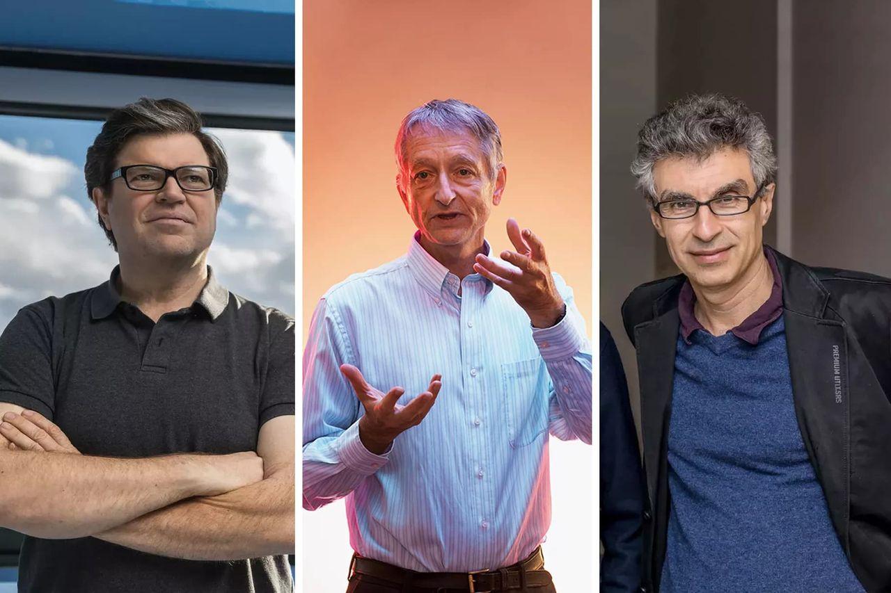 Tre AI-pionjärer får dela på årets Turingpris