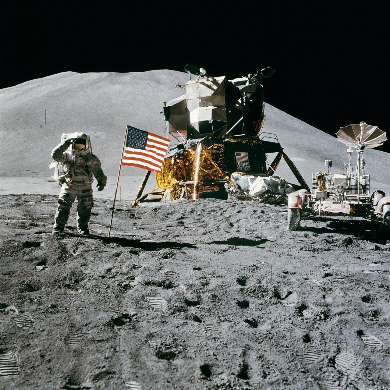 USA vill landa människor på månen igen