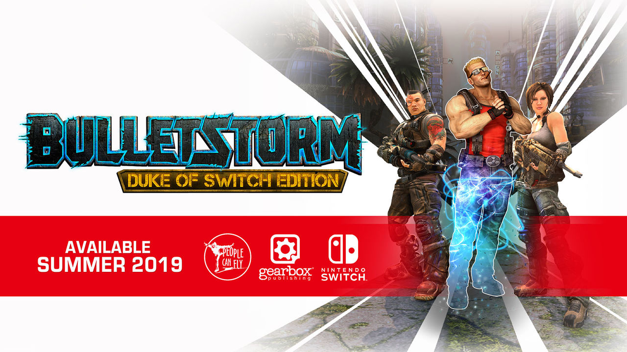 Bulletstorm kommer till Nintendo Switch i sommar